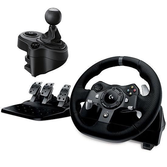 Simulation automobile Logitech G920 Driving Force + Shifter pour G29 & G920