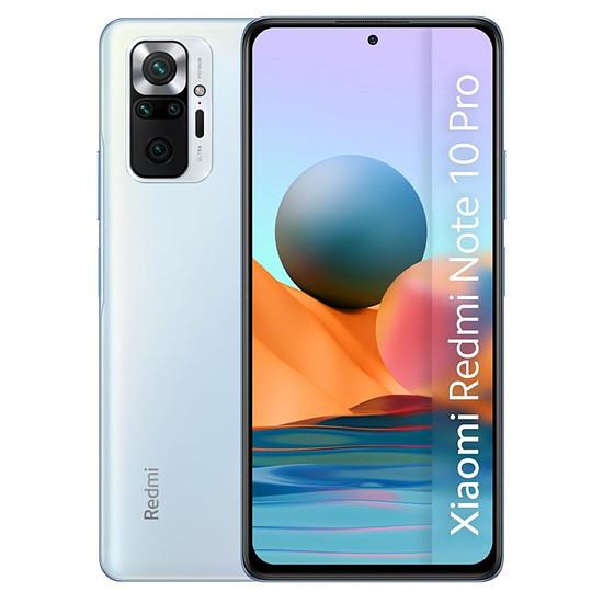 Smartphone et téléphone mobile Xiaomi Redmi Note 10 Pro (bleu) - 128 Go - 6 Go