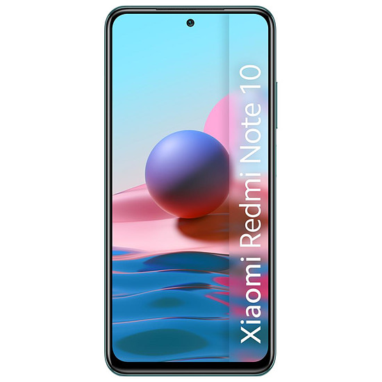 Smartphone et téléphone mobile Xiaomi Redmi Note 10 (vert) - 128 Go