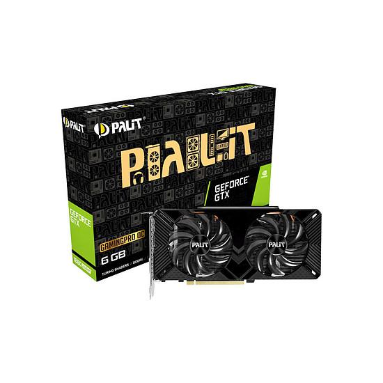 Carte graphique Palit GeForce GTX 1660 Super Gaming Pro OC