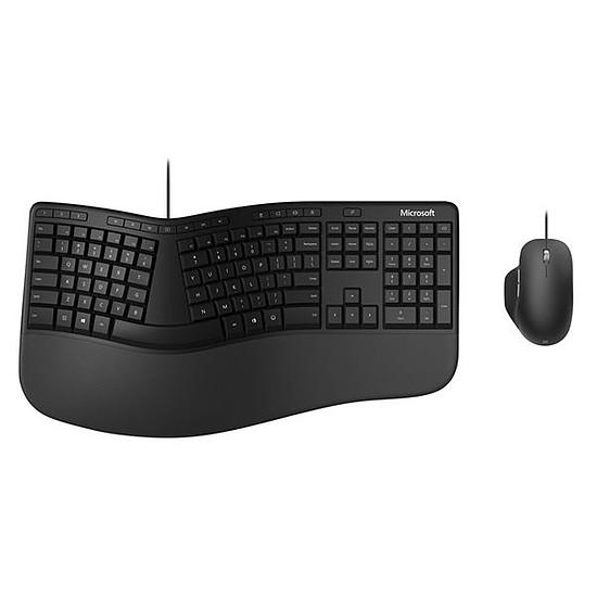 Pack clavier-souris bureautique Microsoft Ergonomic Desktop
