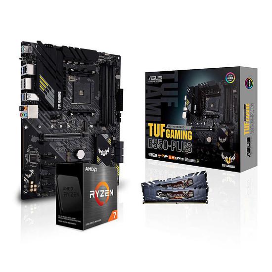 Kit upgrade PC AMD Ryzen 7 5800X - Asus B550 - RAM 16 Go 3200 MHz