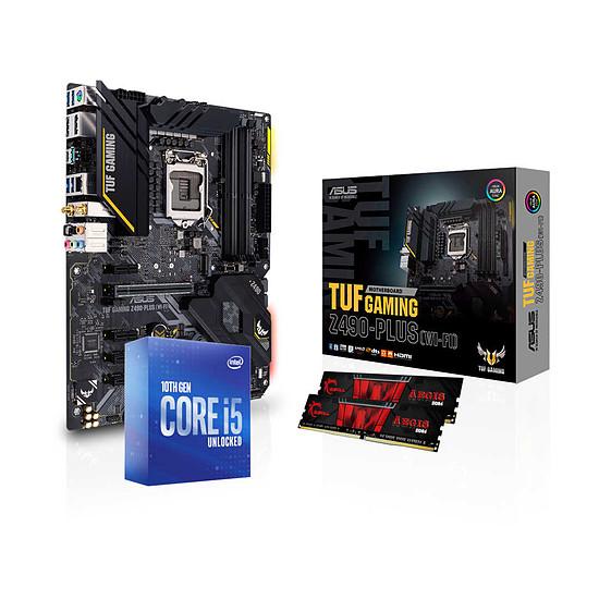 Kit upgrade PC Intel Core i5 10600K - Asus Z490 - RAM 16Go 3200MHz