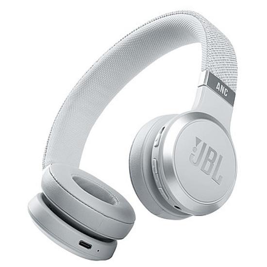 Casque Audio JBL LIVE 460NC Blanc