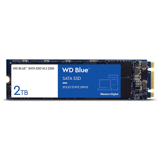 Disque SSD Western Digital WD Blue M.2 - 2 To