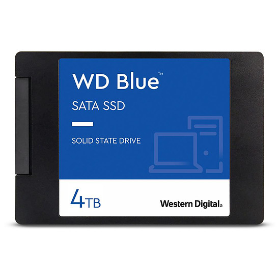 Disque SSD Western Digital WD Blue - 4 To