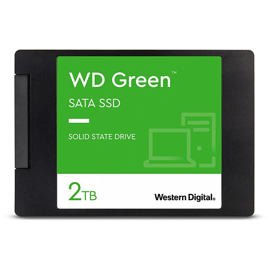 Disque SSD Western Digital WD Green - 2 To