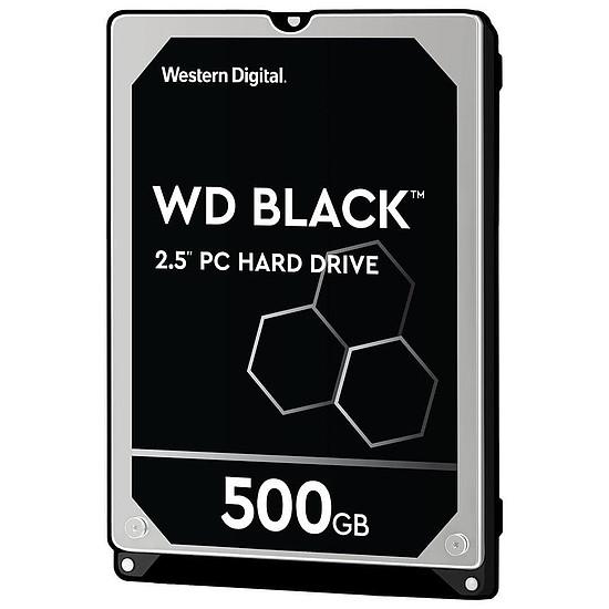 Disque dur interne Western Digital WD Black Mobile - 500 Go - 32 Mo