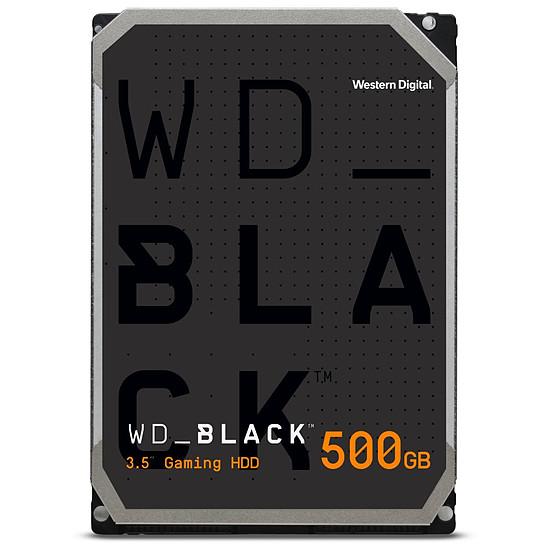 Disque dur interne Western Digital WD Black - 500 Go - 64 Mo