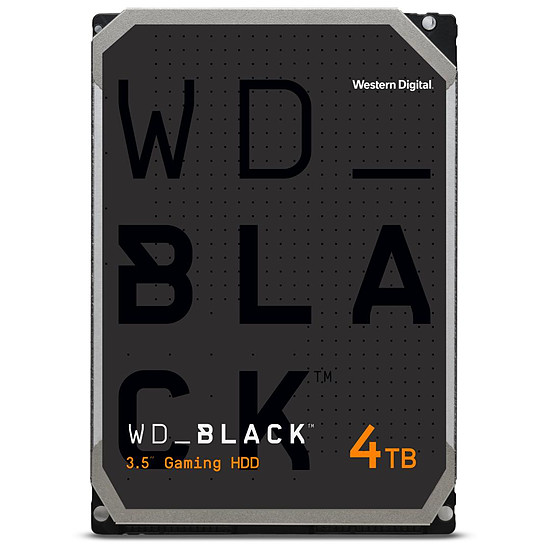 Disque dur interne Western Digital WD Black - 4 To - 256 Mo