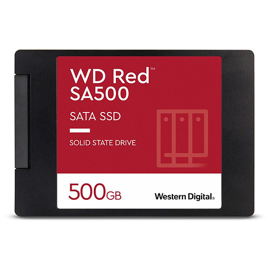 Disque SSD Western Digital WD Red SA500 - 500 Go