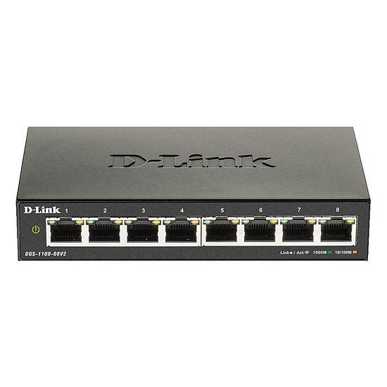 Switch et Commutateur D-Link DGS-1100-08V2
