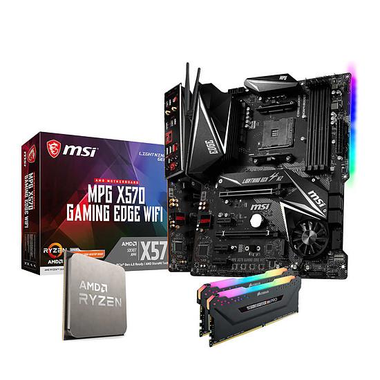 Kit upgrade PC Ryzen 7 5800X - MSI X570 - RAM 32 Go 3600 MHz