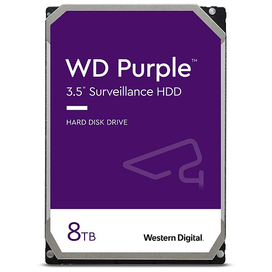 Disque dur interne Western Digital WD Purple - 8 To - 128 Mo
