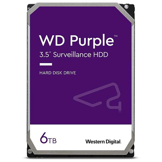 Disque dur interne Western Digital WD Purple - 6 To - 128 Mo