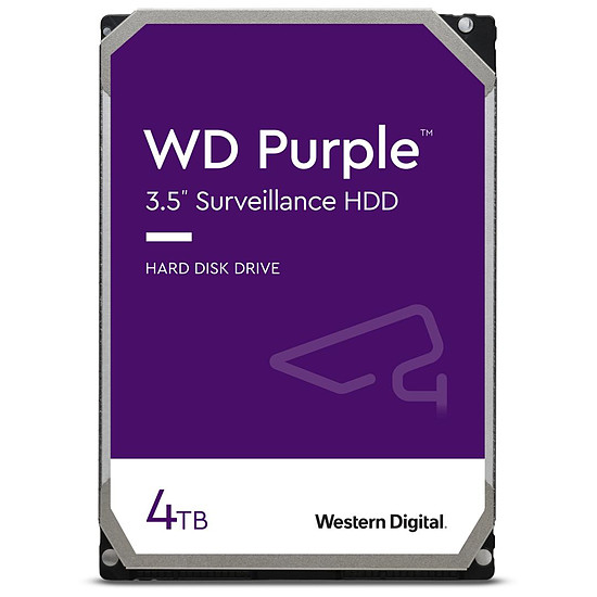 Disque dur interne Western Digital WD Purple - 4 To - 64 Mo
