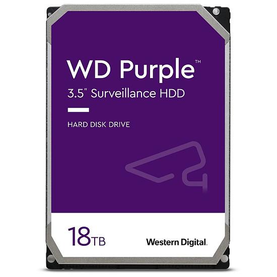 Disque dur interne Western Digital WD Purple - 18 To - 512 Mo