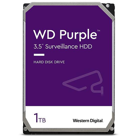 Disque dur interne Western Digital WD Purple - 1 To - 64 Mo