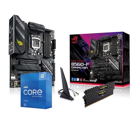 Kit upgrade PC Intel Core i5 11600KF - Asus B560 - RAM 16 Go