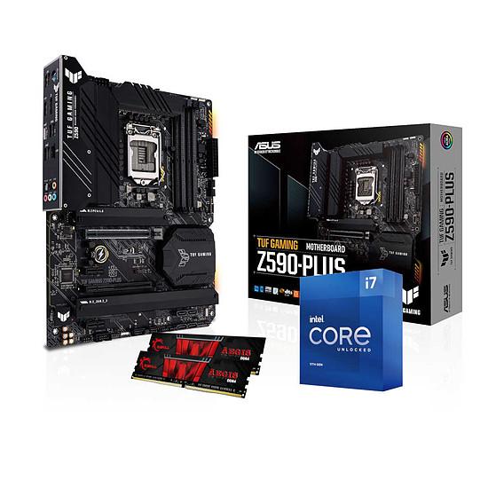 Kit upgrade PC Intel Core i7 11700K - Asus Z590 - RAM 16 Go 3200 MHz