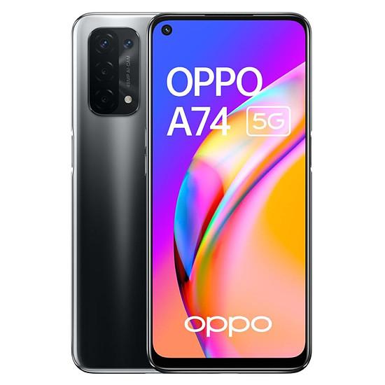 Smartphone et téléphone mobile OPPO A74 5G (Noir Twilight) - 128 Go - 6 Go