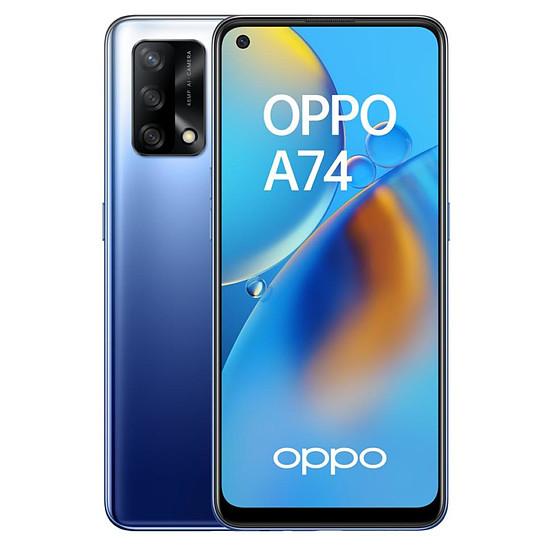 Smartphone et téléphone mobile OPPO A74 4G (Bleu Nuit) - 128 Go - 6 Go