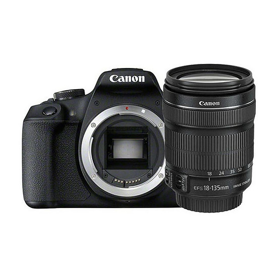 Appareil photo Reflex Canon EOS 2000D + 18-135 IS STM