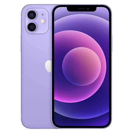 Smartphone et téléphone mobile Apple iPhone 12 (Mauve) - 128 Go
