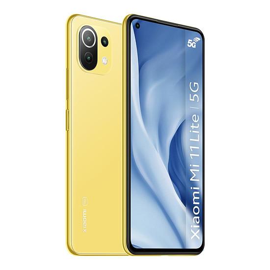 Smartphone et téléphone mobile Xiaomi Mi 11 Lite 5G (Jaune) - 128 Go