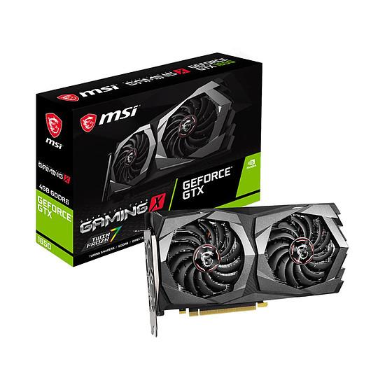 Carte graphique MSI GeForce GTX 1650 D6 GAMING X PLUS