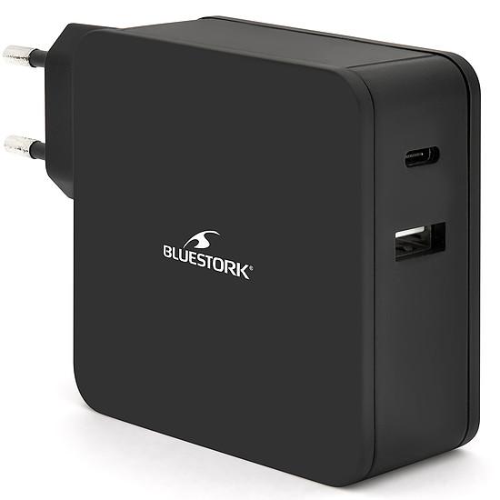 Chargeur Bluestork Chargeur USB-C 65W (noir)