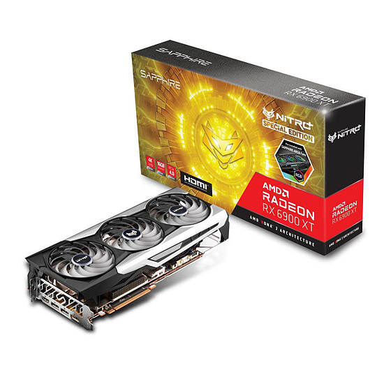 Carte graphique Sapphire Radeon RX 6900 XT Nitro+ SE