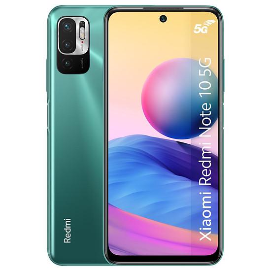 Smartphone et téléphone mobile Xiaomi Redmi Note 10 5G (vert) - 128 Go