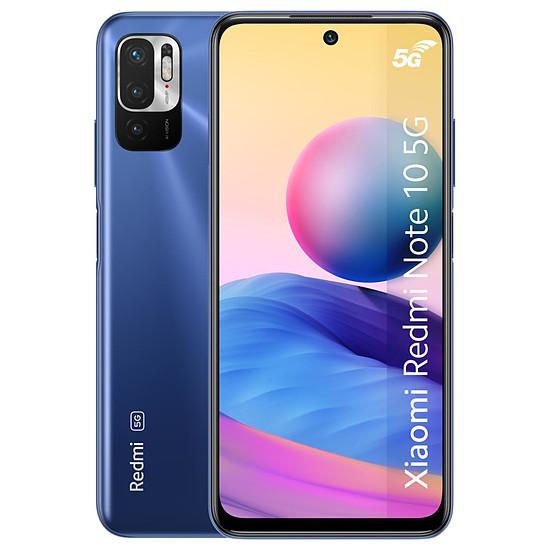 Smartphone et téléphone mobile Xiaomi Redmi Note 10 5G (bleu) - 64 Go