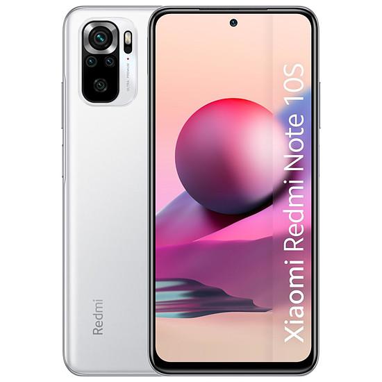 Smartphone et téléphone mobile Xiaomi Redmi Note 10S (blanc) - 128 Go