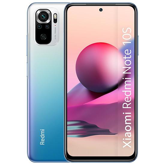 Smartphone et téléphone mobile Xiaomi Redmi Note 10S (bleu) - 128 Go