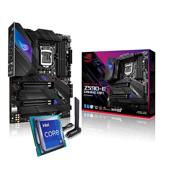 Kit upgrade PC Intel Core i9 11900K - Asus ROG STRIX Z590-E GAMING WI-FI