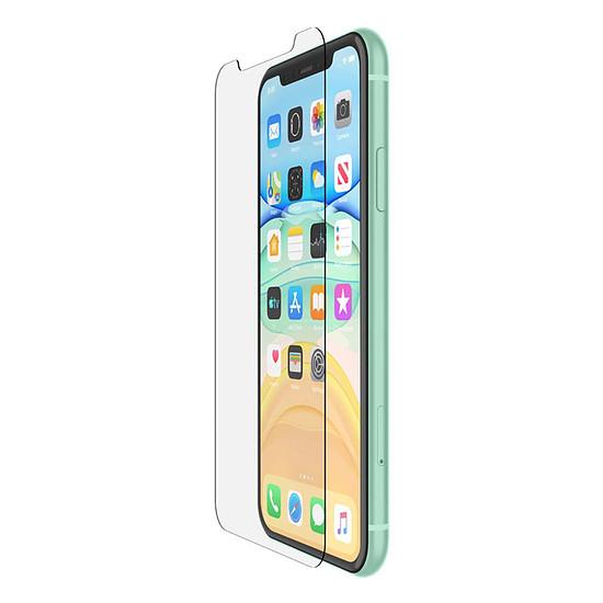 Protection d'écran Belkin Protection d'écran antimicrobienne Tempered Glass pour iPhone 11 / XR