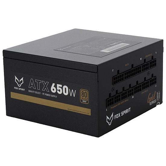 Alimentation PC Fox Spirit US-650G V2 - Gold