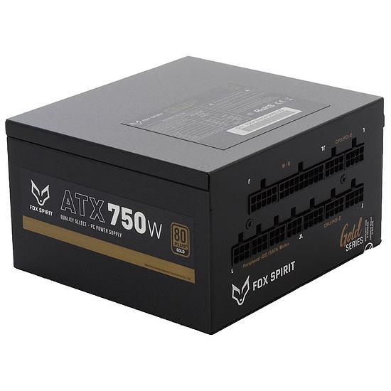 Alimentation PC Fox Spirit US-750G V2 - Gold