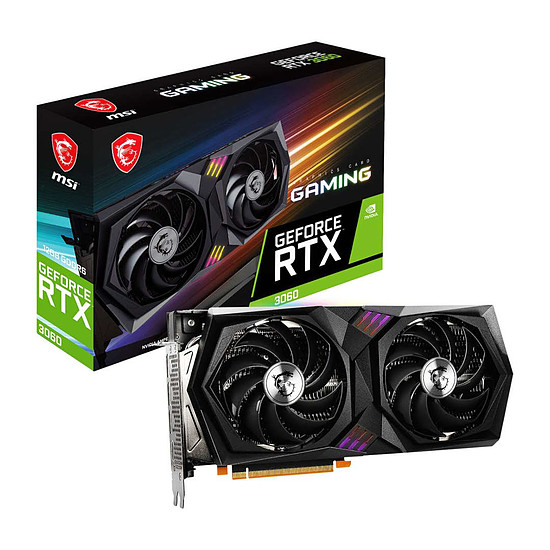 Carte graphique MSI GeForce RTX 3060 Gaming