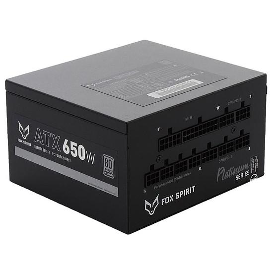 Alimentation PC Fox Spirit GT-650P V2 - Platinium