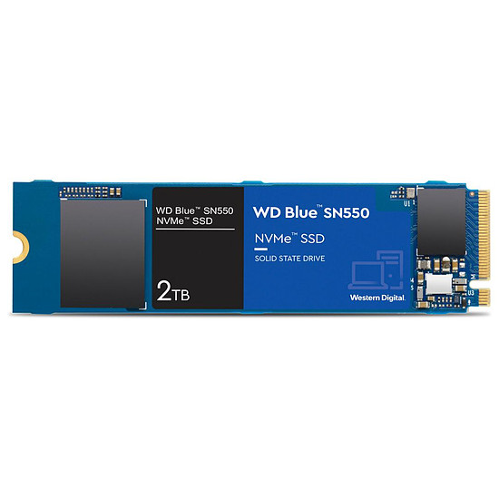 Disque SSD Western Digital WD Blue SN550 - 2 To