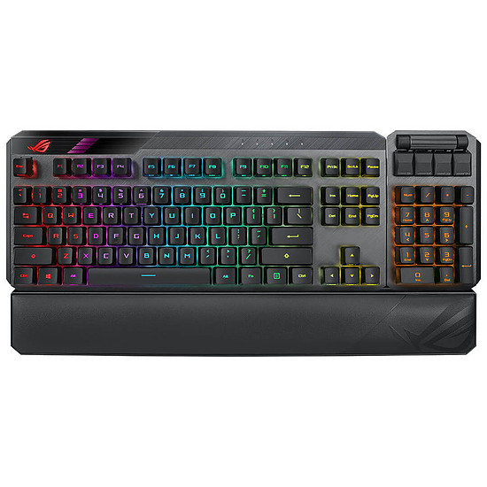 Clavier PC Asus ROG Claymore II - Asus ROG RX Red