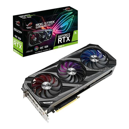 Carte graphique Asus GeForce RTX 3080 Ti ROG STRIX OC