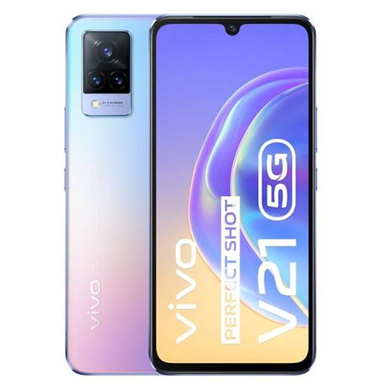 Smartphone et téléphone mobile Vivo V21 5G (Bleu Flamboyant) - 128 Go