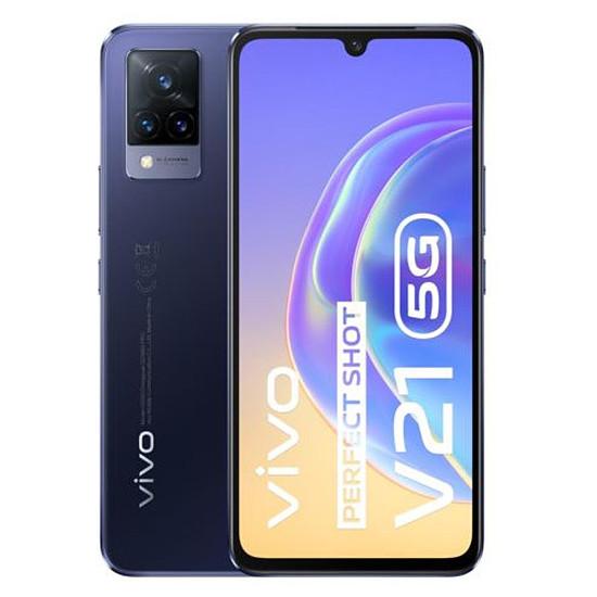 Smartphone et téléphone mobile Vivo V21 5G (Bleu nuit) - 128 Go