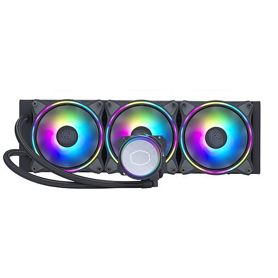 Refroidissement processeur Cooler Master MasterLiquid Illusion 360 - Noir
