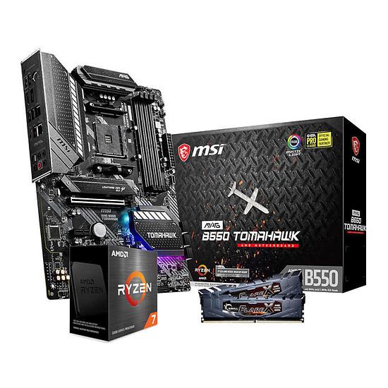 Kit upgrade PC AMD Ryzen 7 5800X - MSI B550 Tomahawk - RAM 16 Go 3200 MHz