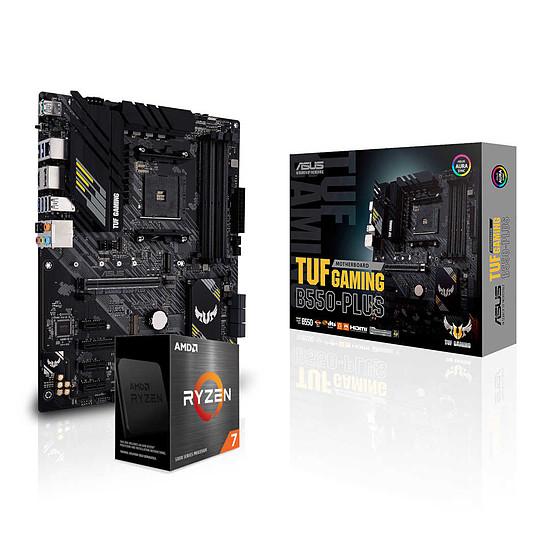 Kit upgrade PC AMD Ryzen 7 5800X +  Asus TUF GAMING B550-PLUS